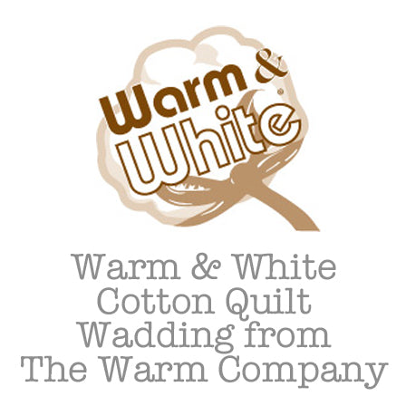 Warm & White Cotton Quilt Wadding