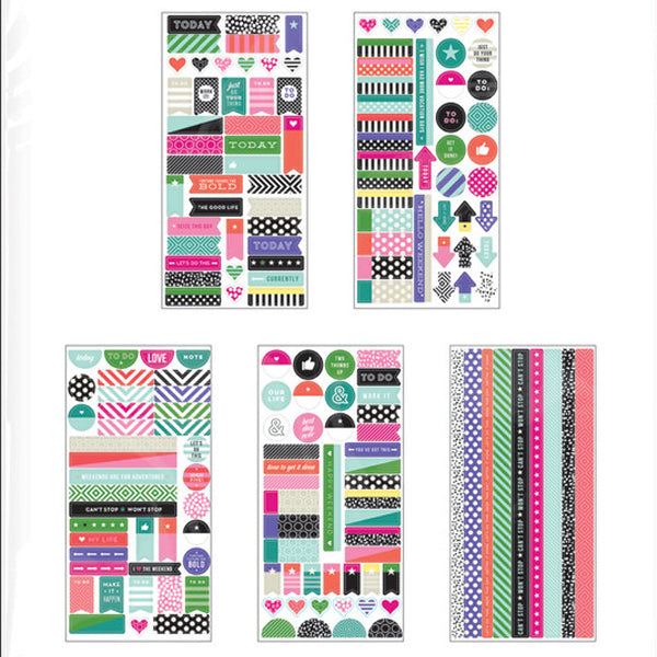 MAMBI Create 365 - Stickers - Washi