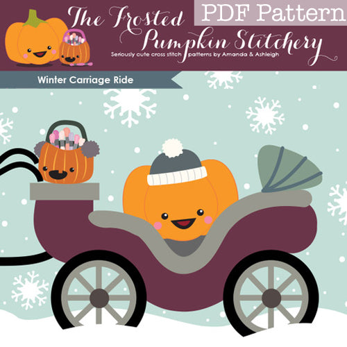 Winter Carriage Ride - PDF PATTERN DOWNLOAD