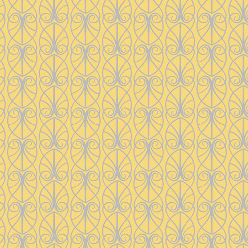 April Showers - Lewis & Irene - Parisian Fretwork - Yellow