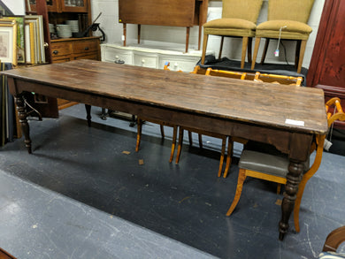 8ft Farm Table