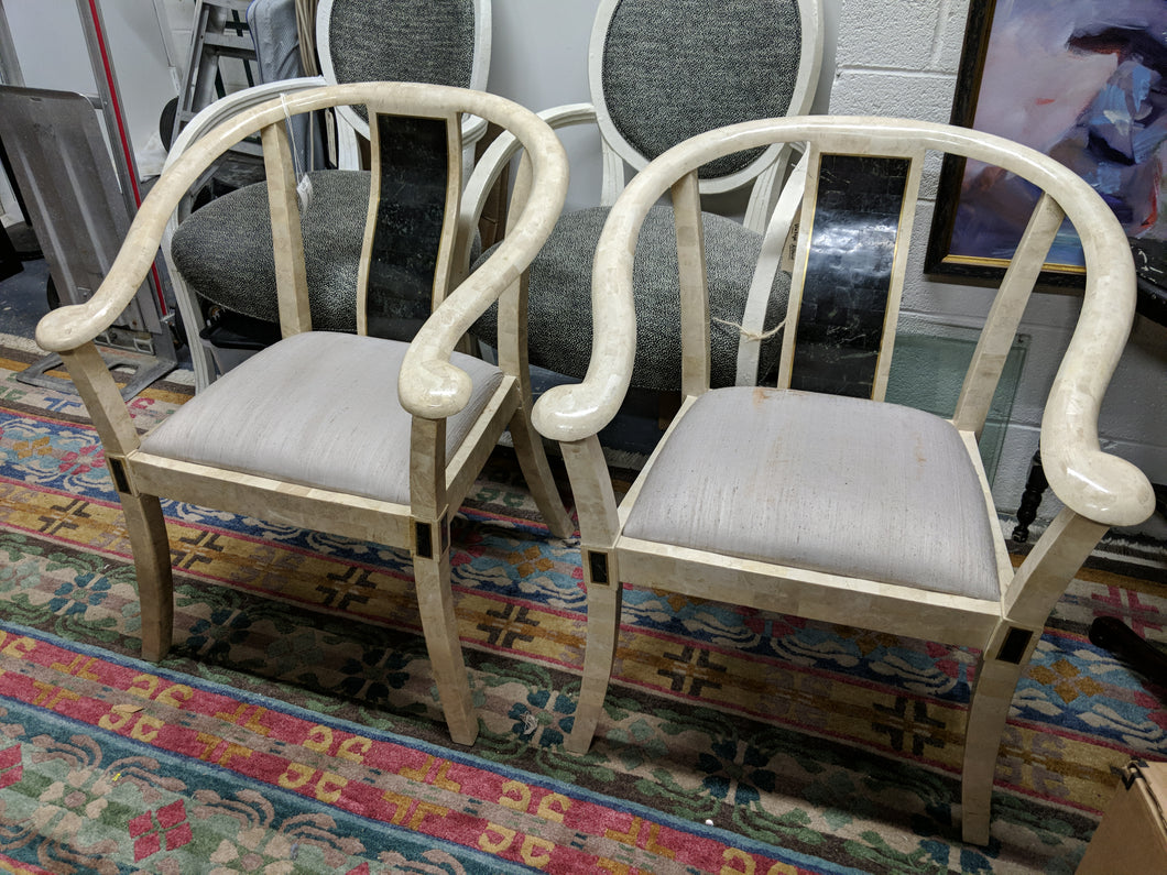 Pair of Stone Chairs