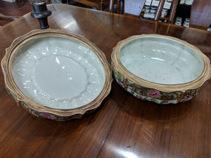 Porcelain Asian Bowl with Lid