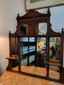 Carved Vanity Mirror