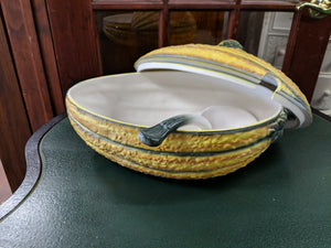 Ceramic Gourd Soup Tureen