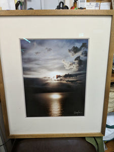 Framed Photo- Ocean/Sky