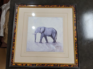 Set - Giraffe & Elephant Prints