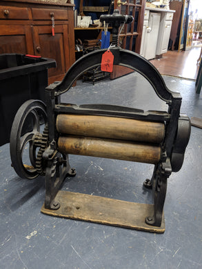 Antique Clothing Press