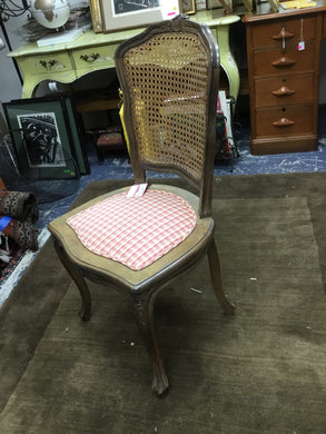 Cane Back Chair