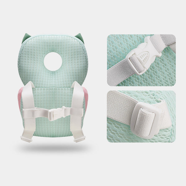 Bebamour Baby Toddlers Head Protective, Adjustable Infant Safety Pad for Baby Walkers Protective Head and Shoulder Protector
