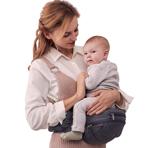 Bebamour Baby Carrier Hip Seat for All Seasons Baby Carrier for Newborn to Toddler 0-36 Months