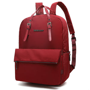 6e7859036d9 Bebamour Women Fashion Backpack Anti-Theft Rucksack Casual Daypack with  Leather Handle for Women Travel