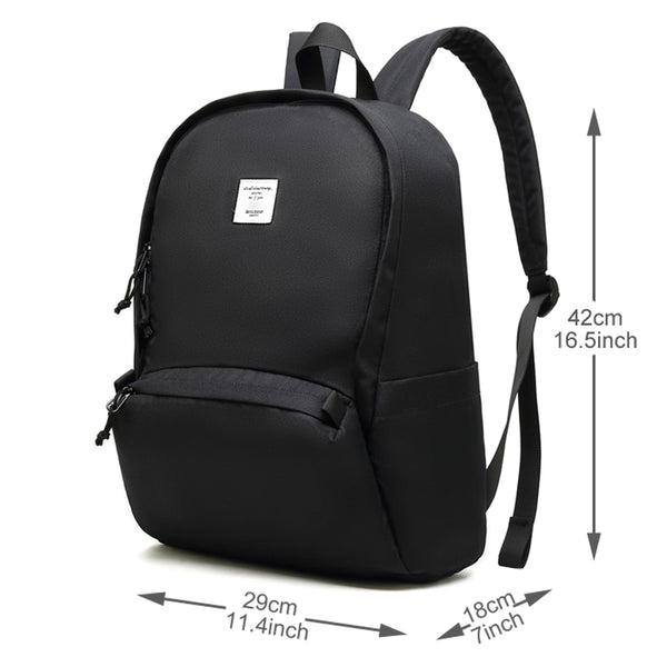 Bebamour Unisex School Backpack Classic Water Resistant Student Backpack Casual Daypack Fits 15.6 inch Laptop