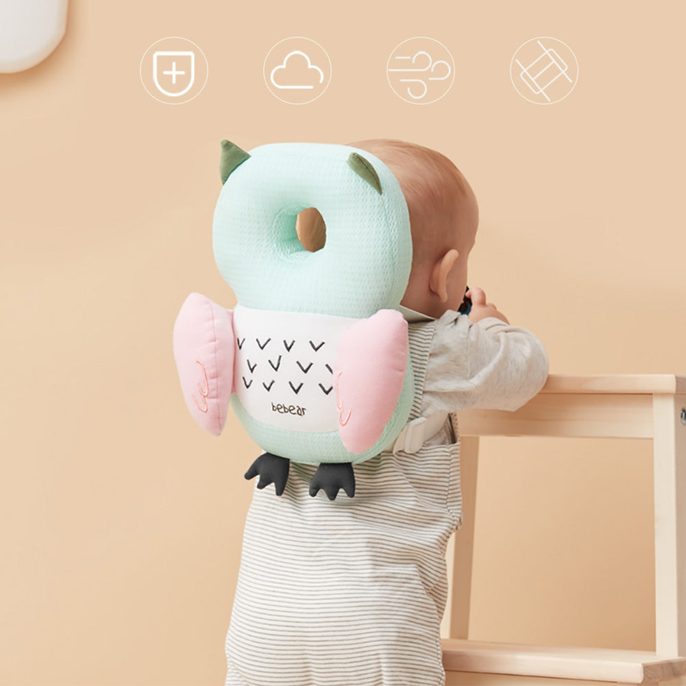 Adjustable Infant Safety Pad for Baby Walkers Protective Head and Shoulder Protector Pig Pink Bebamour Baby Toddlers Head Protective