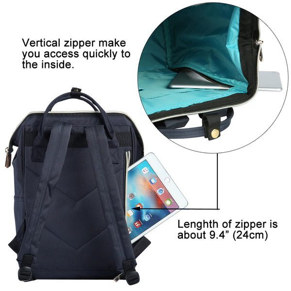 Bebamour Casual School Bags for Girls and Boys Large Capacity Kids Backpack Daypacks