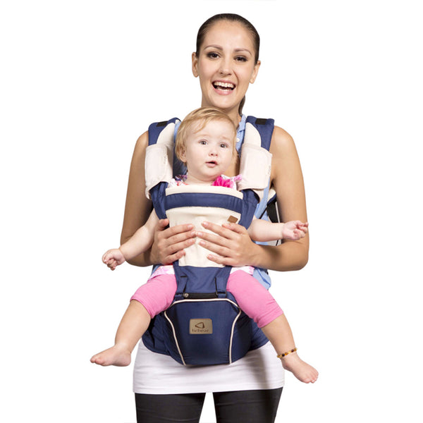Bebamour New Style Baby Carrier Hip Seat 2 in 1 Baby Carrier Sling