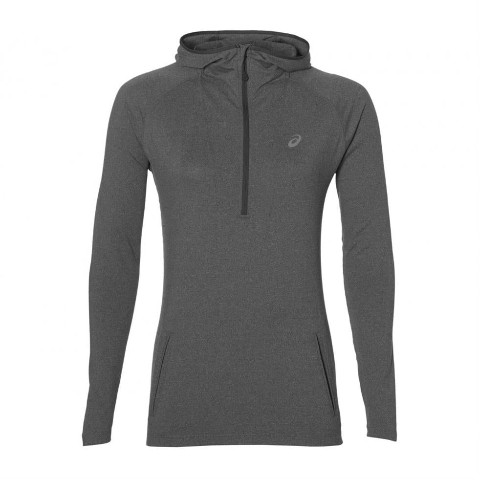 Asics Womens 1/2 Zip Long Sleeve Running Hoodie