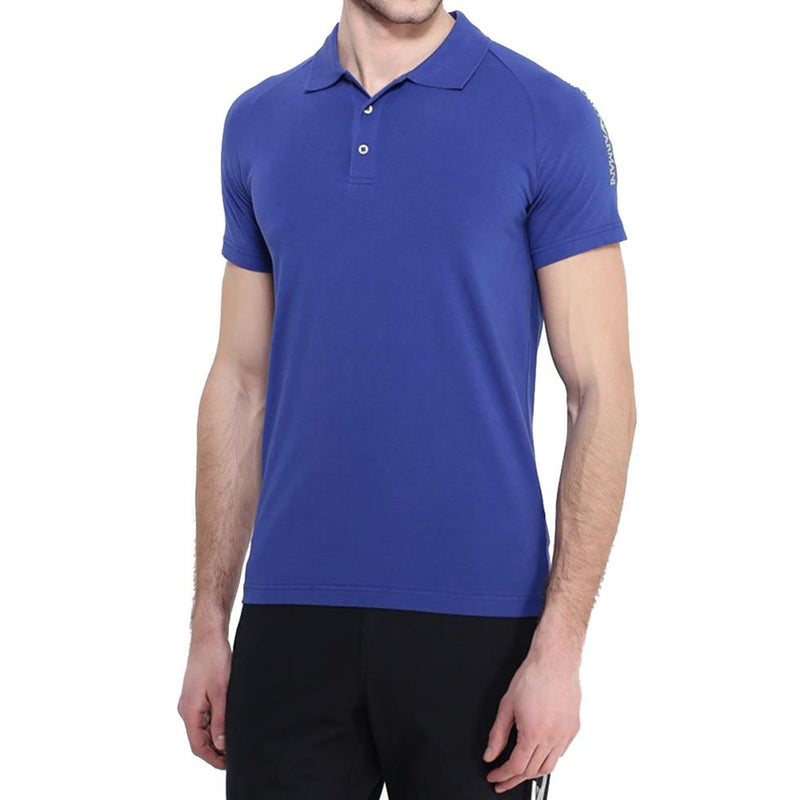 Emporio Armani EA7 Mens 277010-6P209 Shoulder-Logo Polo