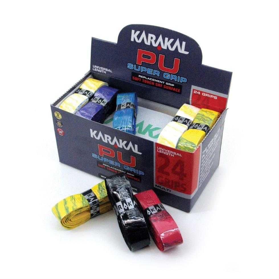 Karakal PU Super Grips Assorted Colours