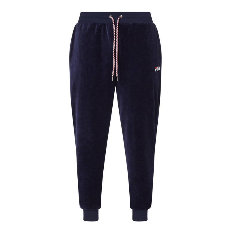 FILA Mens Buzz Velour Slim Fit Track Pants