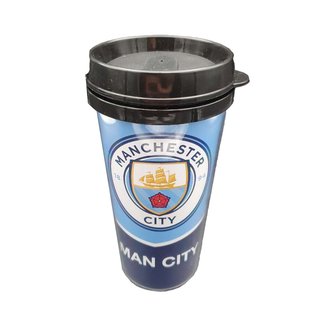 Manchester City FC Contrast Travel Mug