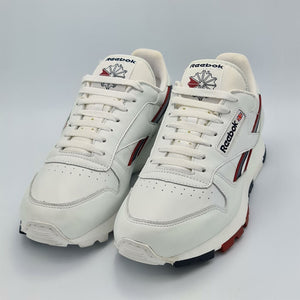 Reebok Classic Leather Runner Mens Vintage Trainers - White - UK 8