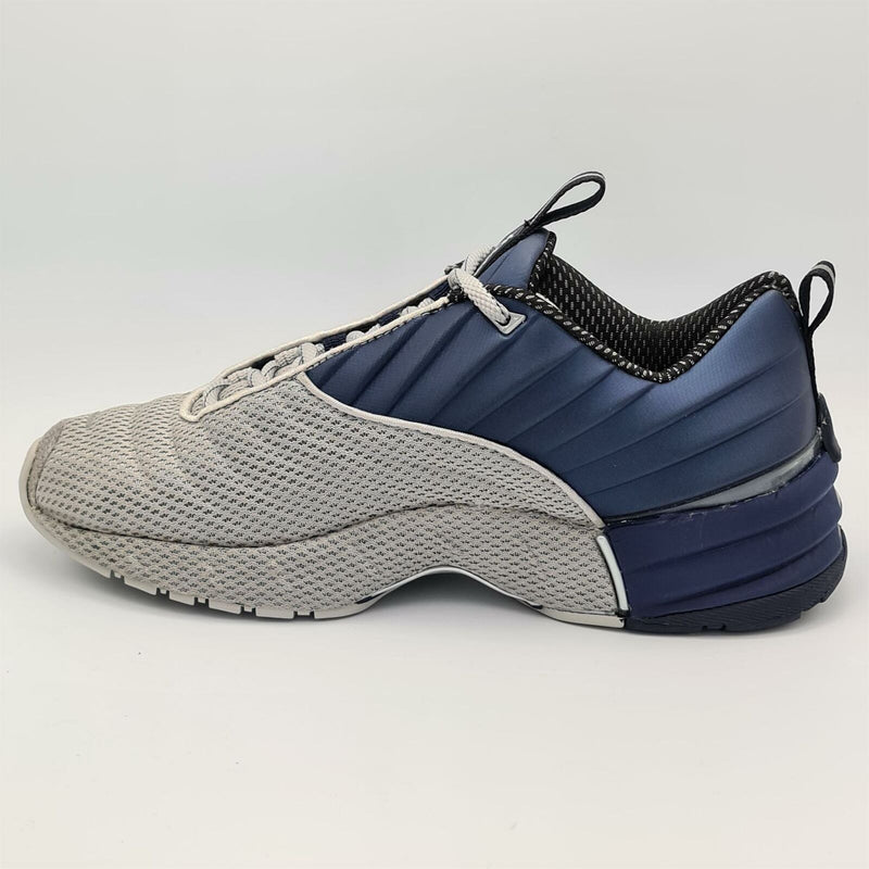 Reebok Mens Mach I DMX Cushioned Trainers - Blue - UK 8