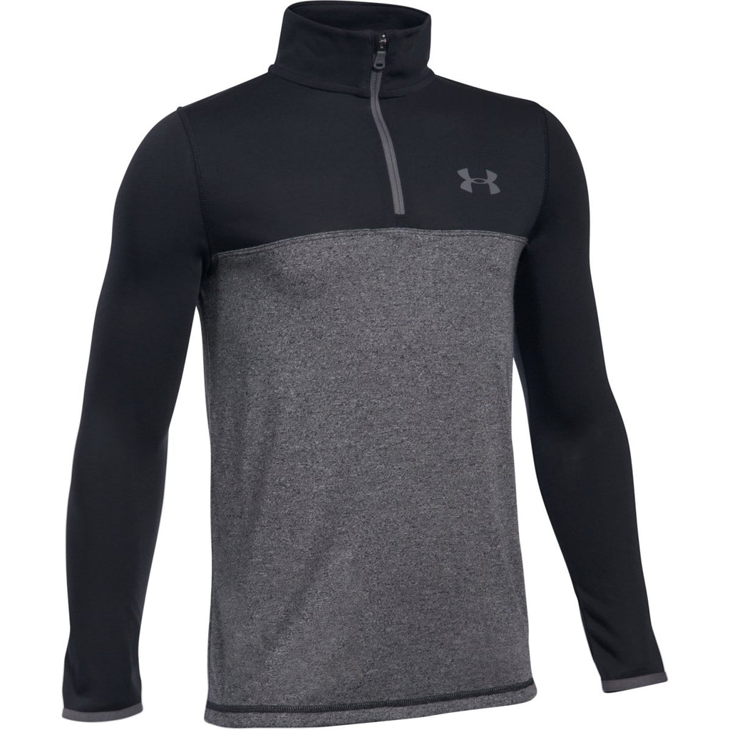 Under Armour Boys Threadborne Quarter Zip Training Top