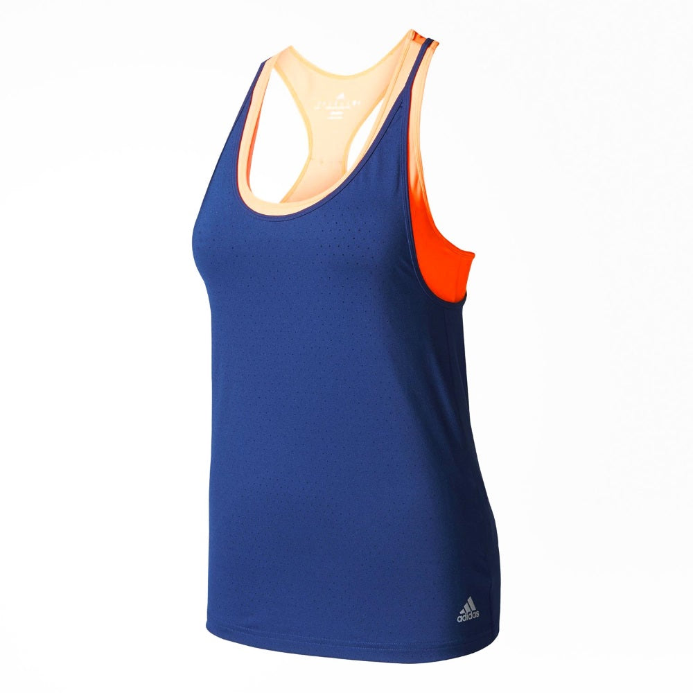 Adidas Womens Advantage Strappy Tennis Tank Top