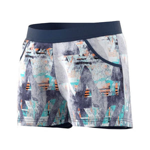 Adidas Girls Melbourne Line Tennis Shorts