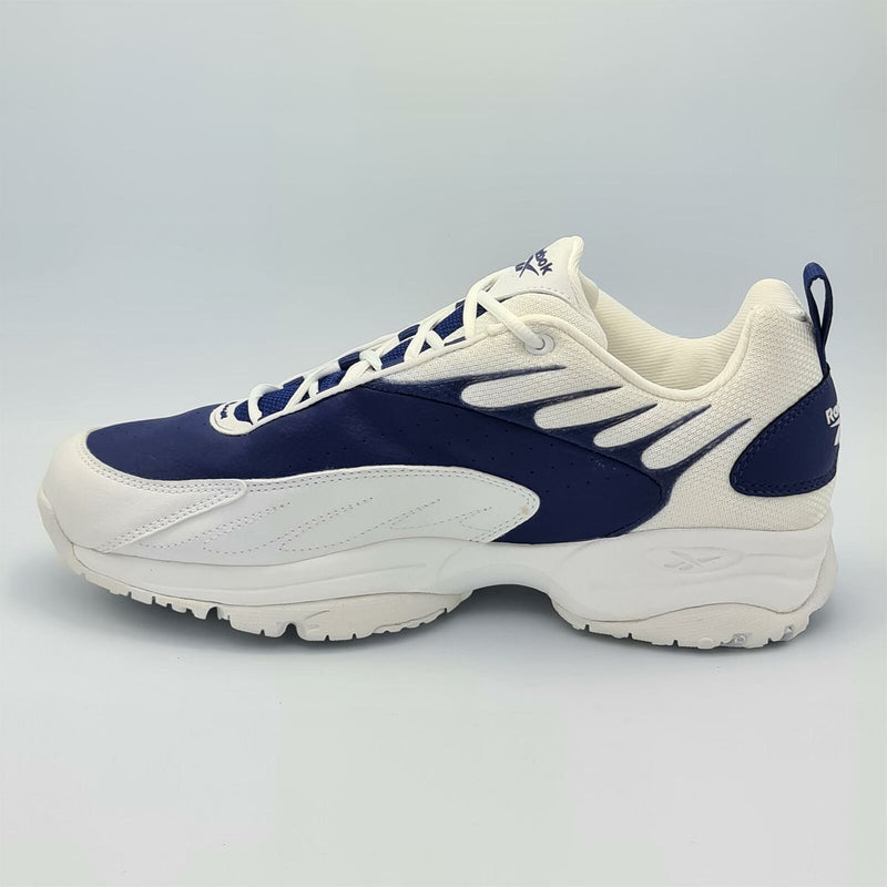 Reebok Mens DMX RPM Cushioned Running Shoes - Navy/White - UK 8