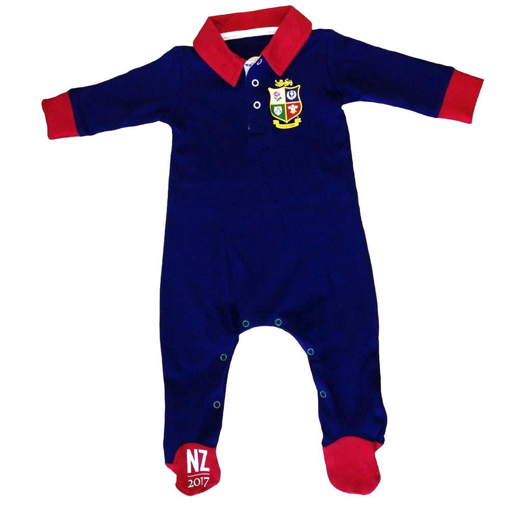 British and Irish Lions Infants Colour Blocked Sleepsuit