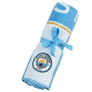 Manchester City Christy Retro Bath Towel