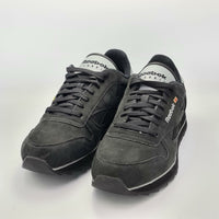 Reebok Classic Leather Ripple Mens Retro Trainers - Black/Grey - UK 8