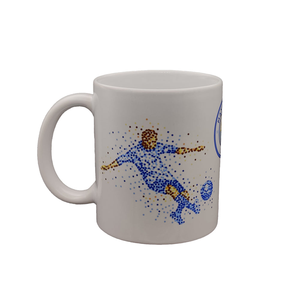 Manchester City FC Dotted Player Mug
