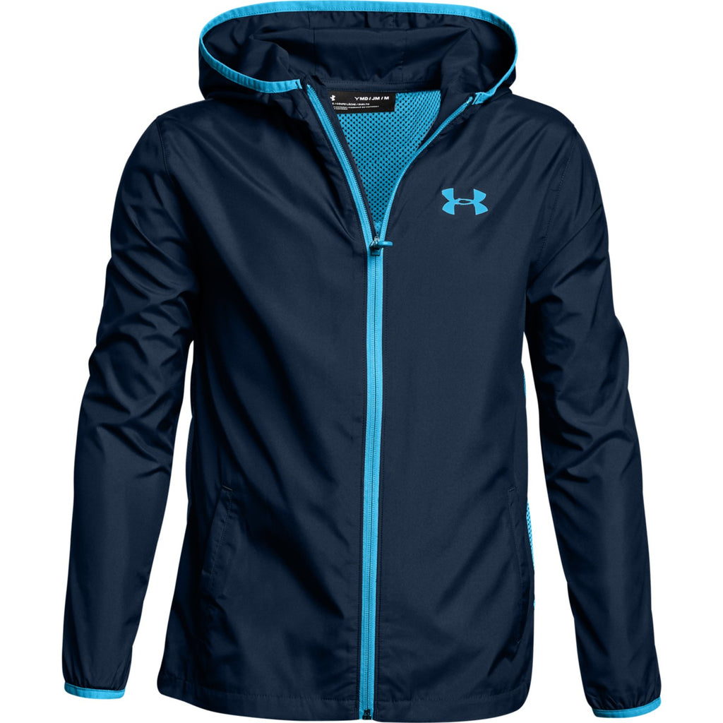 Under Armour Boys Sack Pack Hooded Jacket