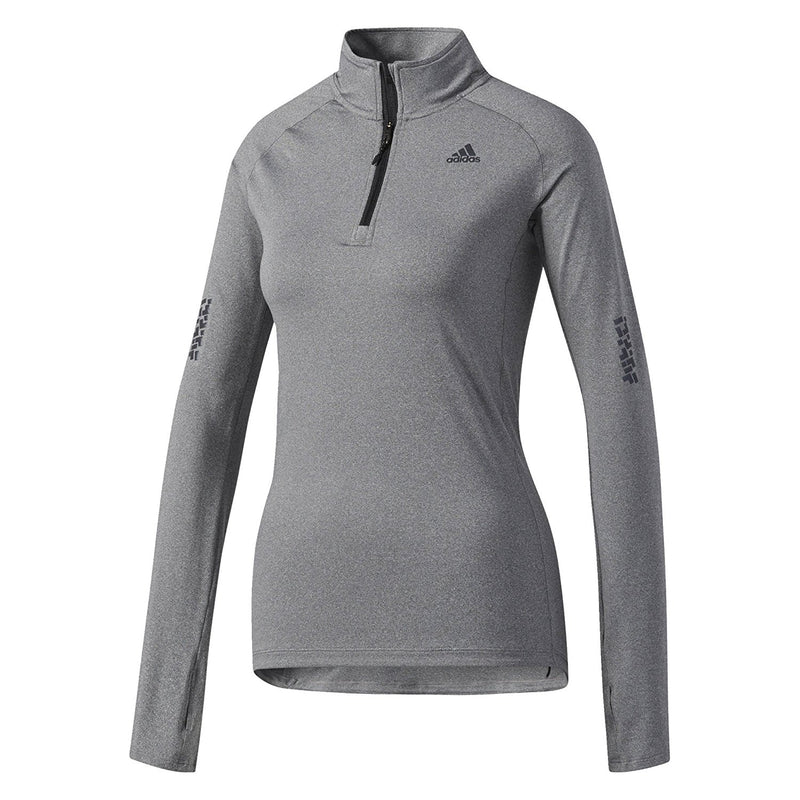 adidas Womens Supernova 1/4 Zip Longsleeve Running Shirt