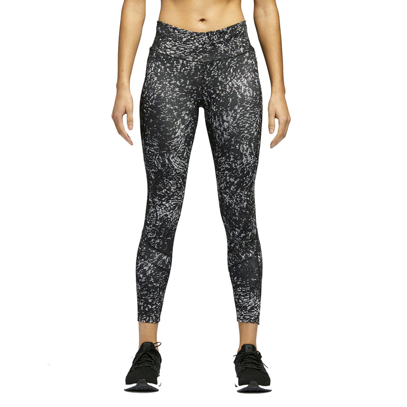 adidas Womens How We Do 7/8 Printed Running Leggings