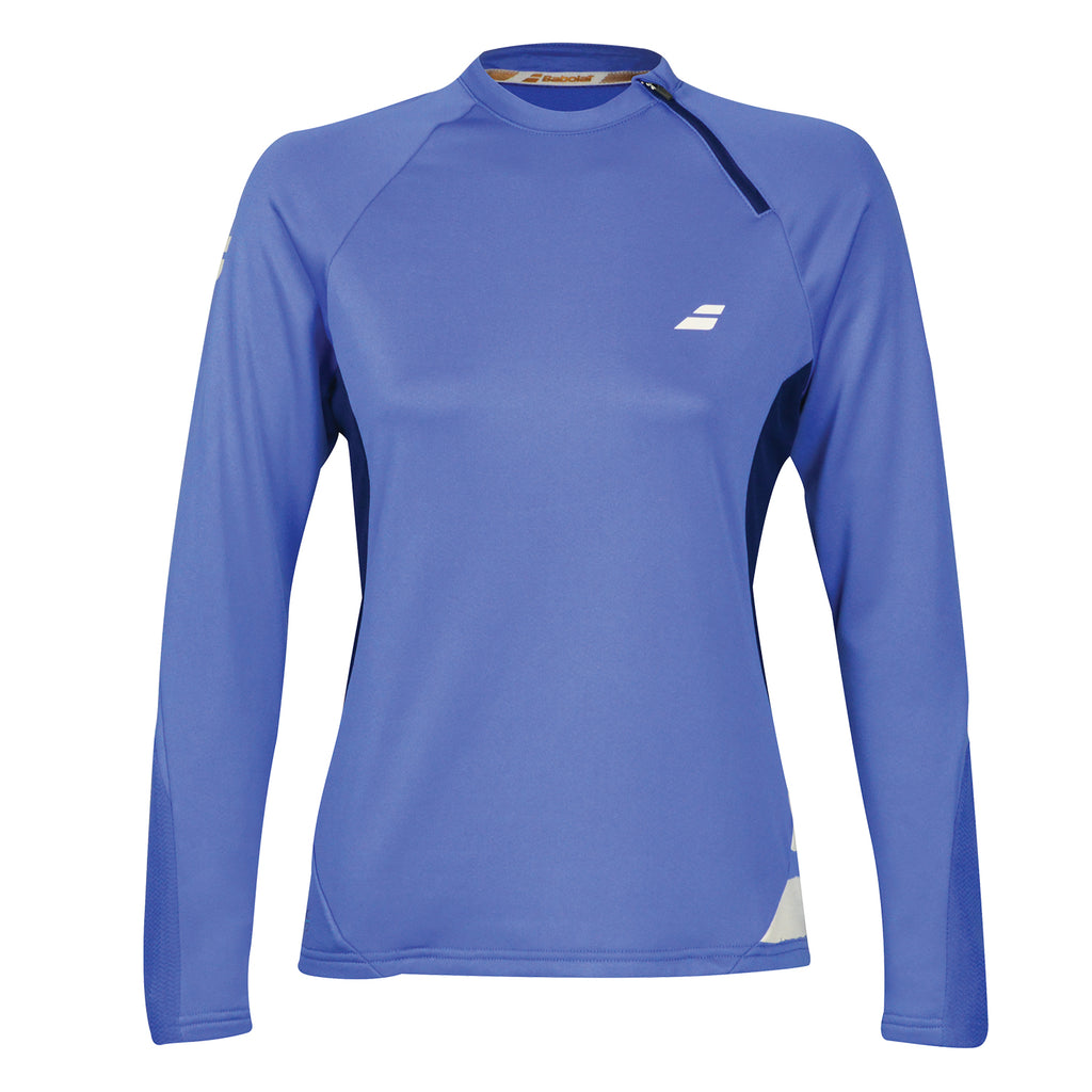 Babolat Womens Performance 1/2 Zip Tennis Sweatshirt
