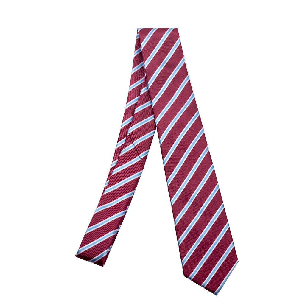 Aston Villa Striped Club Tie