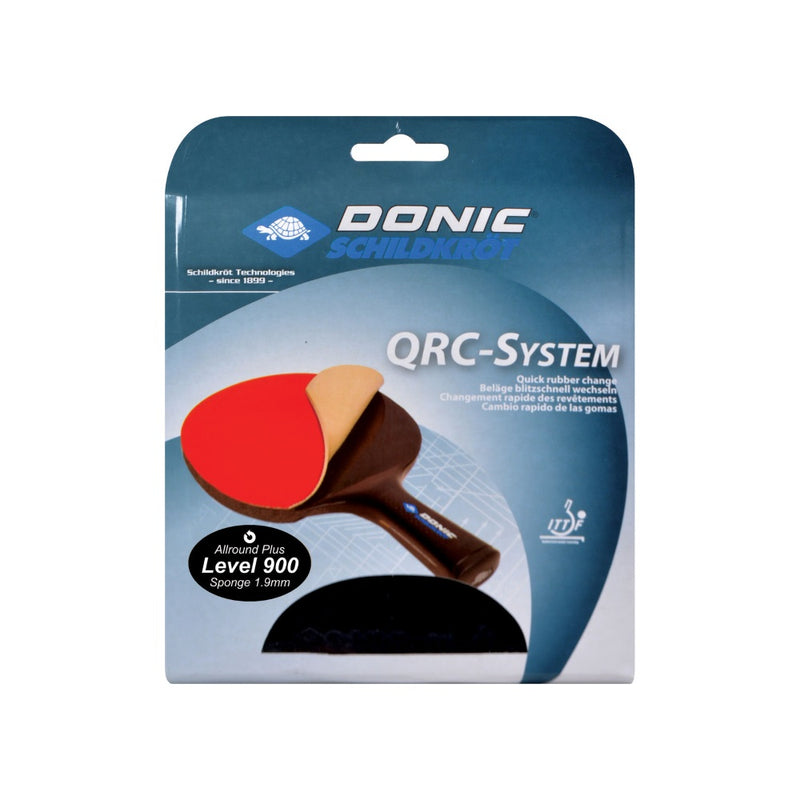Donic Schildkrot QRC 900 Champion Attack Table Tennis Rubber Bat Lining (2 Pack)