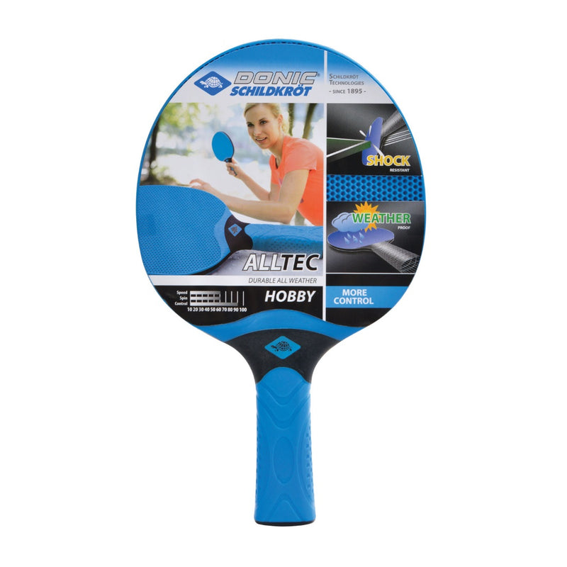 Donic Schildkrot Alltec Hobby Weatherproof Table Tennis Bat