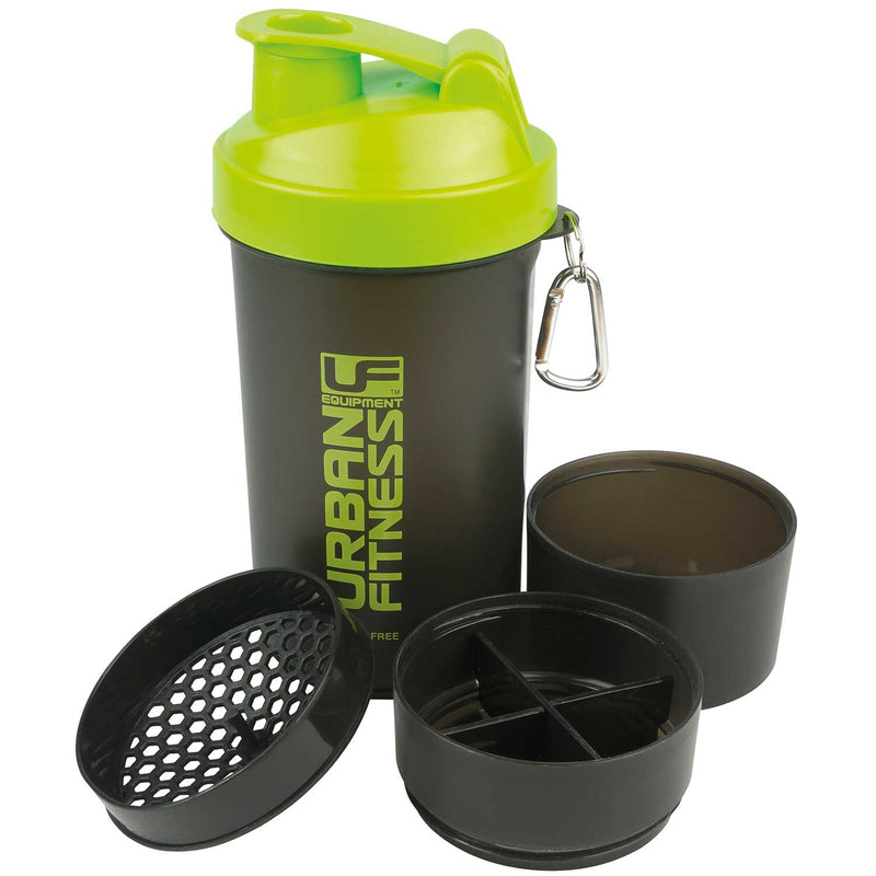 Urban Fitness Equipment 3 in 1 Protein Shaker 600ml