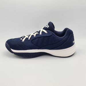Reebok Mens Smash Court Canvas All Court  Tennis Shoes - Navy/White - UK 8