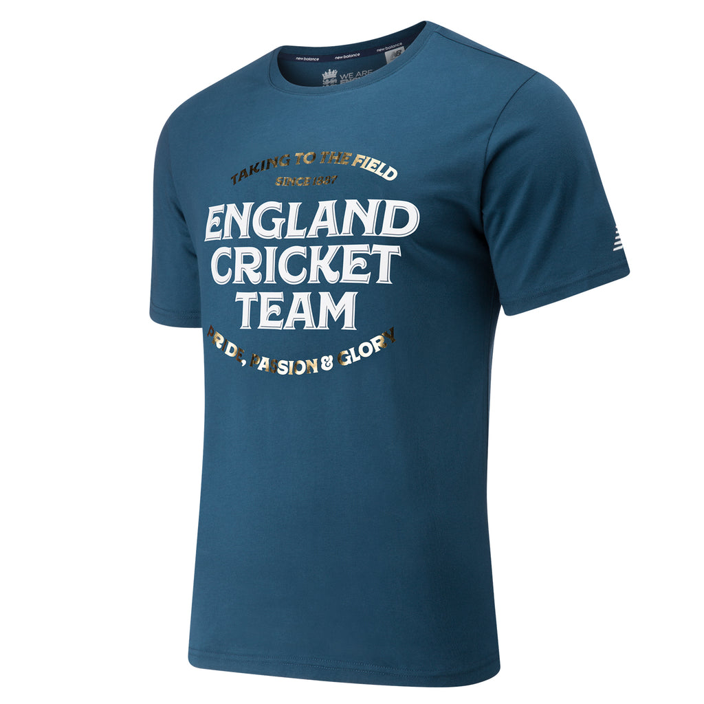England Cricket Mens Graphic 3 T-Shirt
