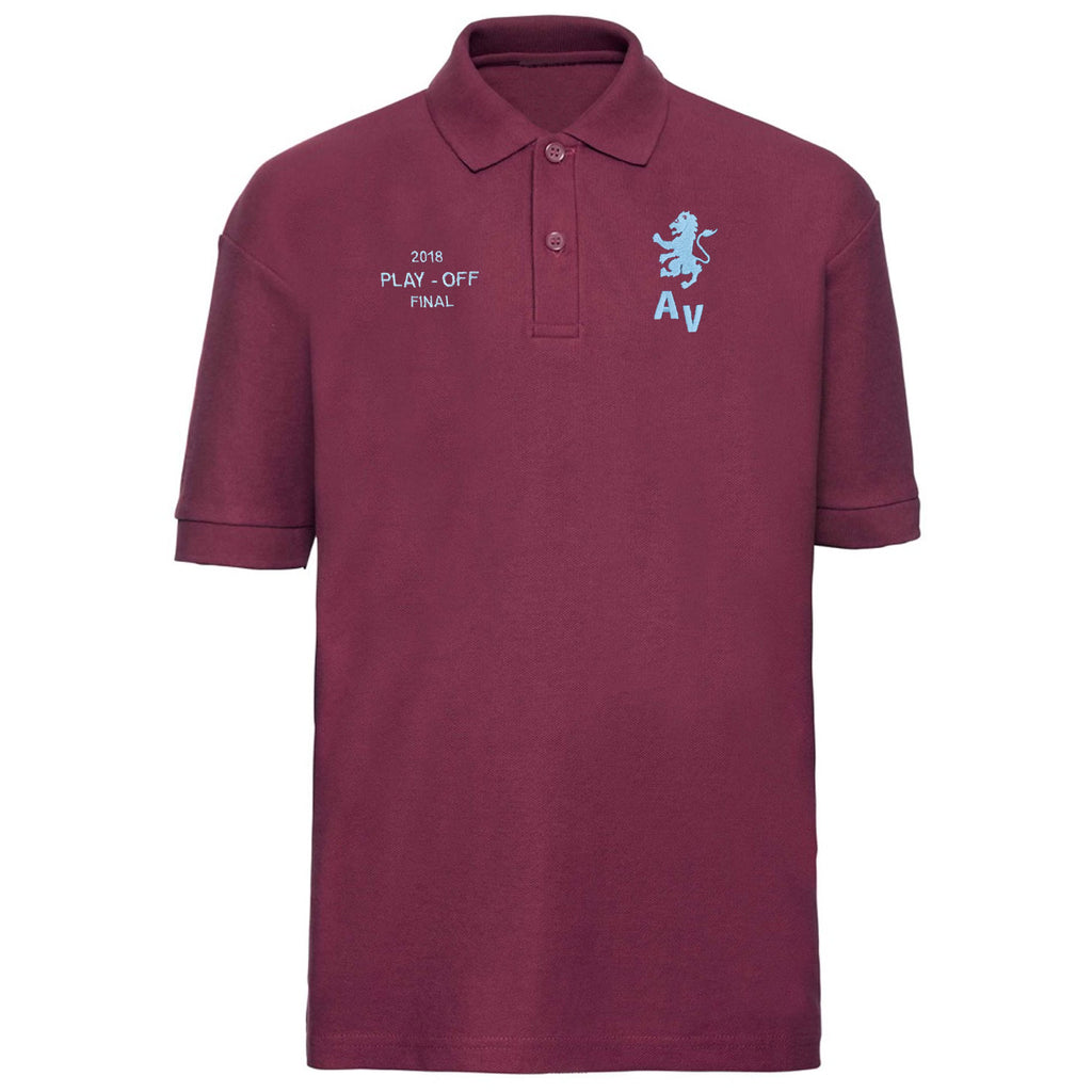 Aston Villa Wembley 2018 Play Offs Polo Shirt