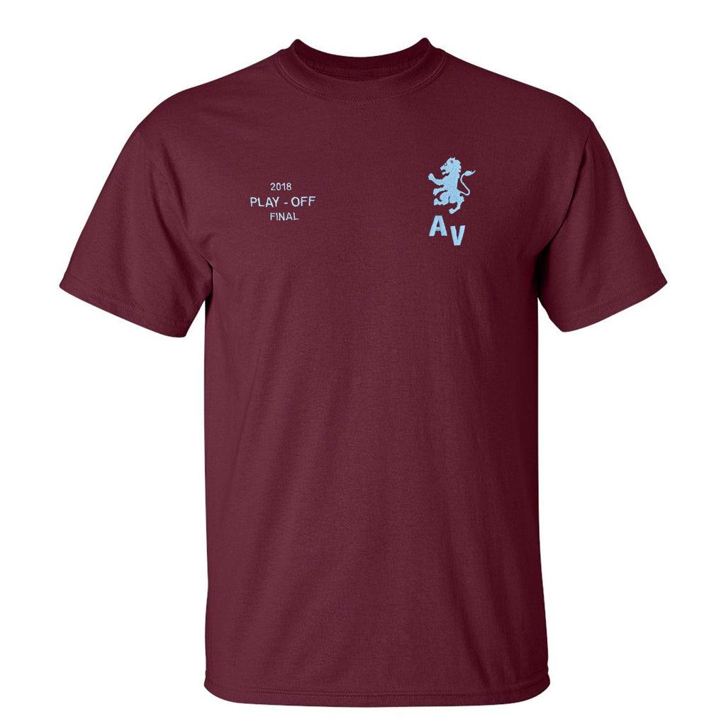 Aston Villa Wembley 2018 Play Offs T-Shirt