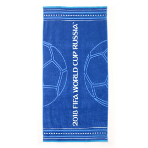 Christy Unisex FIFA Goal Bath Towel - Blue