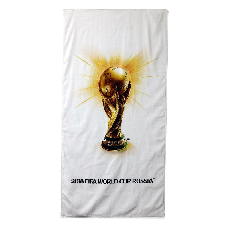 Christy Unisex FIFA World Cup Beach Towel - Gold