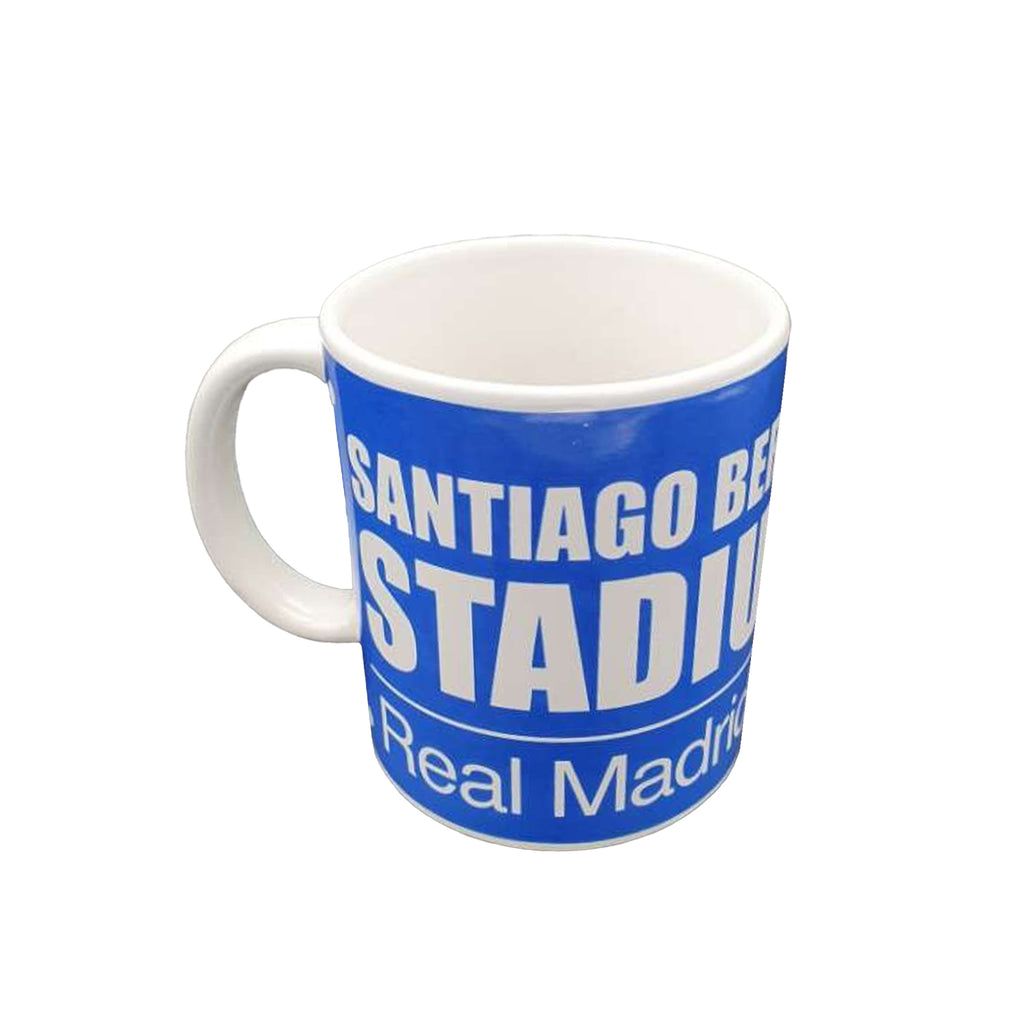 Real Madrid C.F Blue Street Sign Mug
